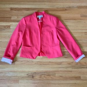 Forever 21 coral open blazer